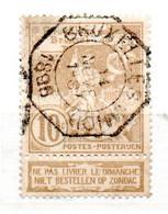 BELGIQUE N° 72 10C BRUN JAUNE EXPOSITION DE BRUXELLES  ST MICHEL TERRASSANT LE DRAGON  OBL - Non Classificati