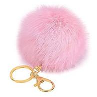 PORTACHIAVI POMPON ROSE  PINK  ROSA  MORBIDO ANTISTRESS KEY-RING B4 - Other