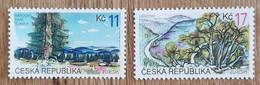 Tchéquie - YT N°210, 211 - Europa / Réserves Et Parc Naturels - 1999 - Neuf - Unused Stamps