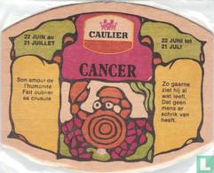 SOUS BOCK BRASSERIE CAULIER / 176 - CANCER / PERUWELZ - Sous-bocks