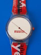 MONTRE PUBLICITAIRE - PIRELLI 2000 - Advertisement Watches