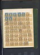 600 TIMBRES CLASSIQUES POUR RECHERCHE Variété Ou Oblitération ( On Note 30 Exemplaires Du 14 Bleu/noir Coté 40) - Unclassified