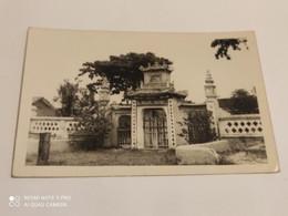 Ancienne Carte Postale Photographie Chine Shanghai Temple Cimetiere - Chine