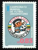 1976 URUGUAY MNH  Soccer Football Academic World Championship Futbol Universitario  FISU Yvert 957 - Uruguay