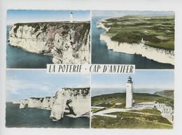 La Poterie - Cap D'Antifer (Saint Jouin Bruneval) Multivues Cp Vierge N°1003 Sofer (phare Falaise) - Other Municipalities