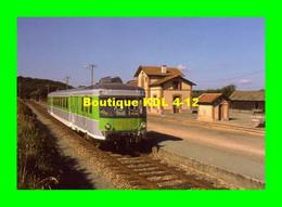AL 269 - Autorail X 2416 En Gare - CARNOET LOCARN - Côtes D'Armor - RB - Estaciones Con Trenes
