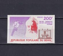 BENIN 1976, Mi# 49, Imperf, Space, Satellite, MNH - Benin – Dahomey (1960-...)