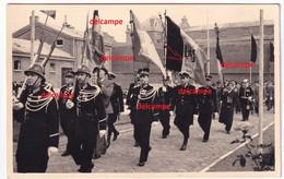 Orginal Photo OpTOCHT RIJKSWACHT Herdenking Van De OORLOG OUDSTRIJDERS Oostvlaanderen Gendarmerie Politie Police - 1939-45