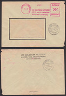 Hettstedt (Südharz) VEB Walzwerk  Kupfer- U. Messingwerke ZKD-AFS 2.6.60 =040= - Official