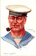 Armée Britannique. Marin Anglais. Dessin D'Emile Dupuis - Guerra 1914-18