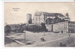 Cpa Old Pc Pologne Krakow Wawel - Poland
