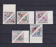 DAHOMEY 1967, Mi# 37-46, Imperf, Space, Transport, MNH - Benin – Dahomey (1960-...)
