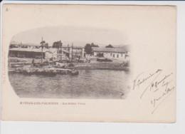 83 – HYERES LES PALMIERS – Les Salins Vieux – CPA Circulée (1900) - Hyeres