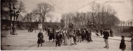 (12/05/21) 29-CPA BREST - CARTE DOUBLE PANORAMIQUE - CIRCULEE DONC UN PLI CENTRAL - Brest
