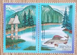 Ukraine - YT N°363, 364 - Europa / Réserves Et Parc Naturels - 1999 - Neuf - Ukraine