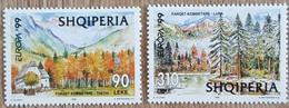 Albanie - YT N°2446, 2447 - Europa / Réserves Et Parc Naturels - 1999 - Neuf - Albania