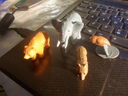 Animali 3d Allegati Alla Raccolta Di Figurine Animali Selvaggi Della Panini - Autres