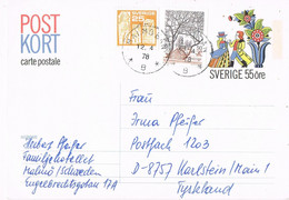 40445. Entero Postal MALMÖ (Sverige) Suecia 1978 To Germany - Ganzsachen