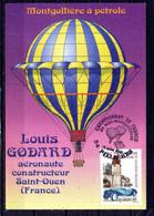 Louis GODARD Aéronaute Constructeur Montgolfiére A Pétrole . Championnat De France .  Voir Recto - Verso  (U793) - Saint Ouen