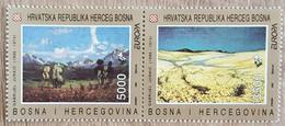 Bosnie / Herceg - YT N°1F, 1G - Europa / Art Contemporain - 1993 - Neuf - Bosnien-Herzegowina