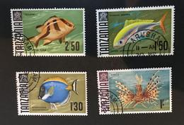 (stamp 12-5-2021) Tanzania (4 Stamps) Fish - Tanzania (1964-...)