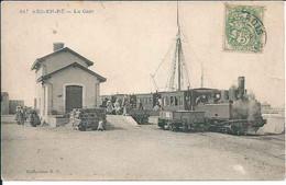 ILE DE RE : Ars En Ré, La Gare. Très Beau Plan - Ile De Ré