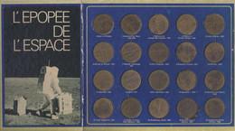 France - Collection Complète De Jetons Publicitaires SHELL - Epopée De L'Espace - Sonstige