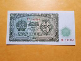 BULGARIE 3 LEVA 1951 UNC - Bulgaria