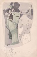 Jugendstil  ,  Illustr.  Hauby  S.  -  Ediz.  Zagreb  ,  Serie  203 - Unclassified
