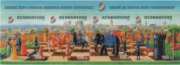 "Idee Europee - 2002 Azerbaigian ""Campionato Europeo Di Scacchi"" In Foglietto (BF) MNH** - Europäischer Gedanke"