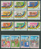 Guinea 1982 Olympic Games Moscow, Football Soccer, Basketball Etc. Set Of 13 MNH - Zomer 1980: Moskou