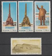 North Korea 1973  Michel  1180/83  Mnh - Korea, North