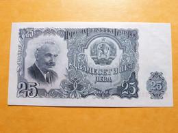 BULGARIE 25 LEVA 1951 UNC - Bulgaria