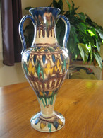 ANCIENNE JARRE AMPHORE OU VASE EN CERAMIQUE ORIENTALE KABYLE BERBERE MAROC - Oriental Art