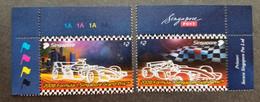 Singapore Formula One Grand Prix 2008 F1 Car Racing Games (stamp Plate) MNH - Singapore (1959-...)