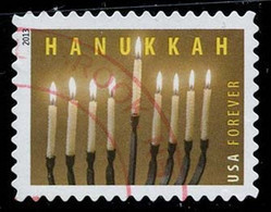Etats-Unis / United States (Scott No.4824 - Hanukkaa) (o) - Gebraucht