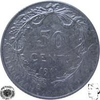 LaZooRo: Belgium 50 Centimes 1911 VF / XF - Silver - 06. 50 Centimes