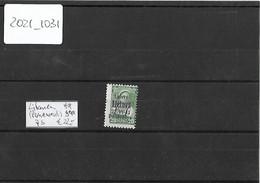 Litauen Panevezys ( Ponewesch ), 7b, Postfrisch , ( Gepr. Krischke BPP ), Selten Im Angebot , Siehe Photos - Besetzungen 1938-45