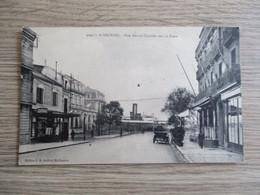 44 SAINT NAZAIRE RUE AMIRAL COURBET VERS LA POSTE VOITURE ANCIENNE - Saint Nazaire