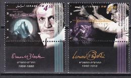 Israel 1995 - Mi.Nr. 1324 - 1325 - Postfrisch MNH - Musiker Musicians Leonard Bernstein Dirigent Conductor - Unused Stamps (with Tabs)