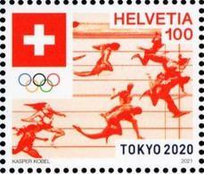 Switzerland - 2021 - Summer Olympic Games In Tokyo 2020 - Mint Stamp - Nuevos