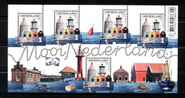 Nederland NVPH 3387 Vel Mooi Nederland Zoutkamp 2016 Postfris MNH Netherlands Fishing Towns - Nuovi