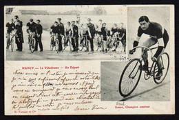 NANCY: Plan TOP Sur Paul Simon Champion Cycliste Amateur, Et Bon Plan Sur Le Départ Au Vélodrome De Nancy - Nancy
