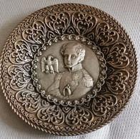 Vide-poche Aigle L'Aiglon, Sceau Impérial Des Titres, NAPOLEON 2 II Roi De Rome, Légion D'Honneur, Décors Filigrané - Silverware