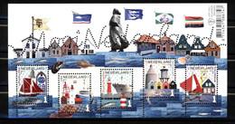 Nederland NVPH 3413 Vel Mooi Nederland 2016 Postfris MNH Netherlands Fishing Towns - Nuovi