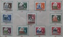 * BASUTOLAND 1961, N°46 à 56 * - 1933-1964 Crown Colony