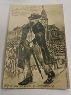 Carte Postale, Luxembourg WW1. Entrée De Chèvres à Luxembourg - Altri