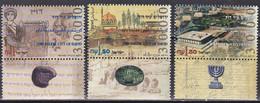 Israel 1995 - Mi.Nr. 1342 - 1344 - Postfrisch MNH - 3000 Jahre Jerusalem - Unused Stamps (with Tabs)