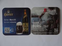 2 Bierdeckel - Privatbrauerei Hirt, Kärnten, Österreich - Sous-bocks