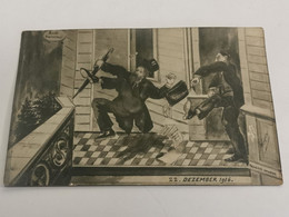 Carte Postale, Luxembourg WW1. 22 Dezember 1916 - Altri